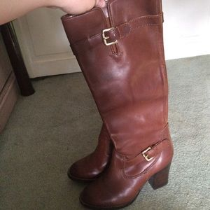 MICHAEL Michael kors leather boots size 7